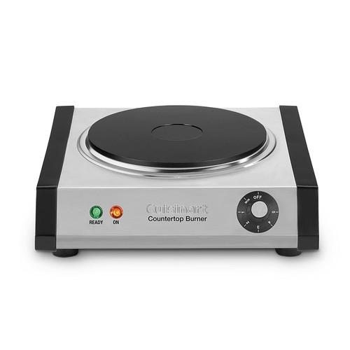 Cuisinart CB-30 Cast-Iron Single Burner, Stainless Steel [Cuisinart Single Burner]