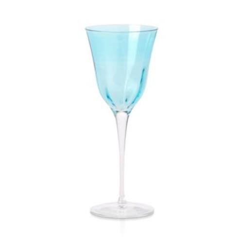 Optical White Wine Glass