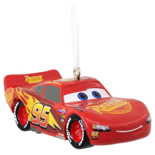 Disney Pixar Cars Lightning McQueen Christmas Ornament
