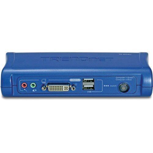 TRENDnet 2-port DVI USB KVM Switch with Audio Kit