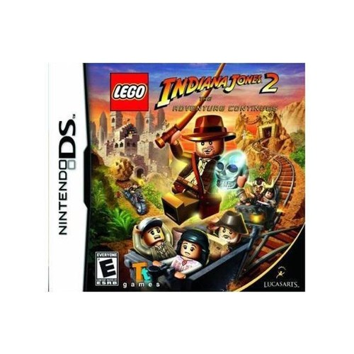 Lego Indiana Jones 2: Adventure Continues Nintendo DS Game