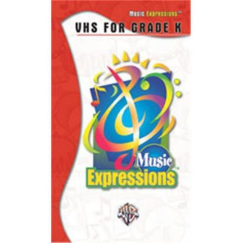 Alfred Music Expressionso Kindergarten- VHS Video - Music Book (ALFRD48588)
