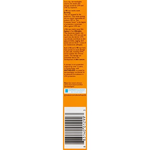 La Roche-Posay Anthelios Face Sunscreen [1.7 fl. oz., Face Sunscreen SPF 60]