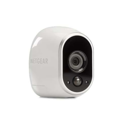 Netgear Arlo Security System w/2 HD Cameras - 720p, H.264, 25ft Night Vision, Digital Pan/Zoom, Motion Detection , Email Alerts, Wireless Frequency 2.4GHz, 802.11n, Range 300 ft, DHCP - VMS3230100NAS