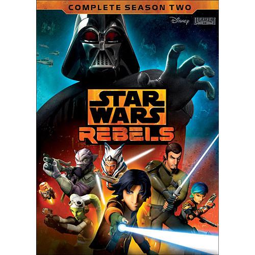 Star Wars Rebels: The Complete Season 2 [4 Discs] [DVD]