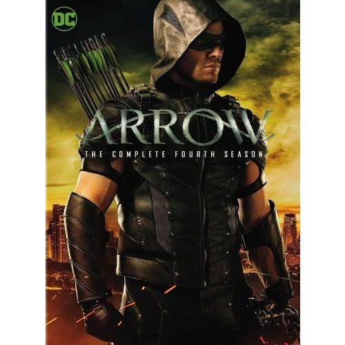 Arrow: The Complete Fourth Season [5 Discs] [DVD]