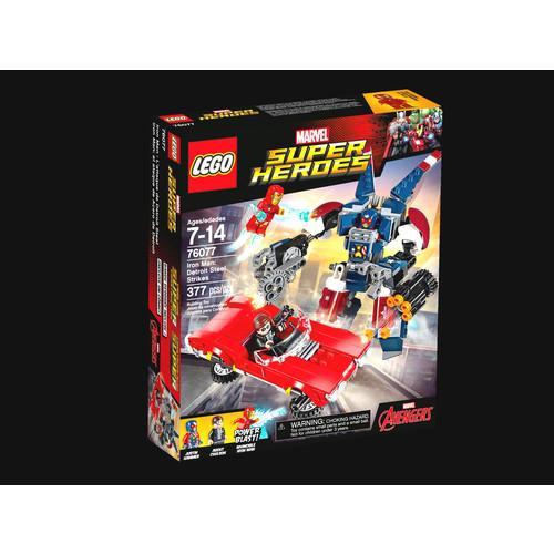 LEGO Marvel Super Heroes Iron Man: Detroit Steel Strikes #76077