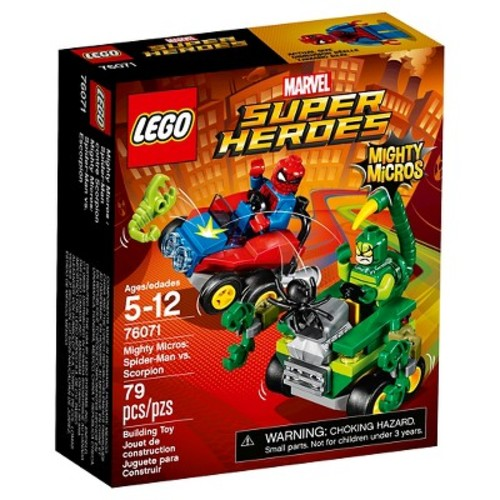 LEGO Marvel Super Heroes Mighty Micros: Spider-Man vs. Scorpion (76071)
