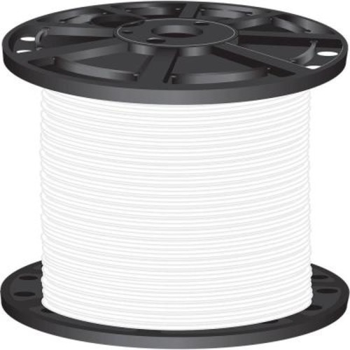 Southwire 2,500 ft. 8 White Stranded CU SIMpull THHN Wire