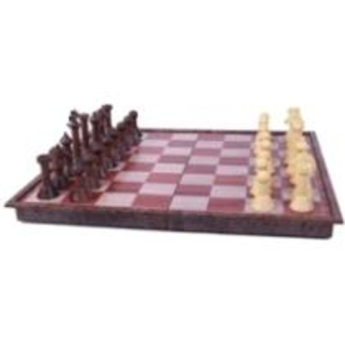 John N. Hansen - Wood Magnetic Chess Set