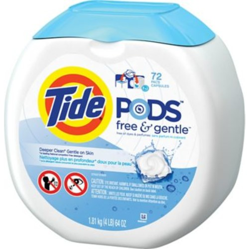 Tide PODS HE Laundry Detergent, Assorted Scents and Pack Sizes