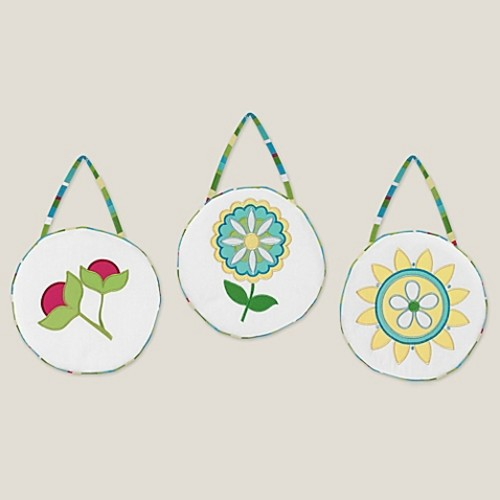 Sweet Jojo Designs Layla Wall Hangings