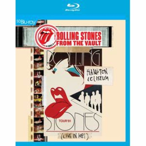 Rolling Stones: From the Vault - Hampton Coliseum (Live in 1981) [Blu-ray]