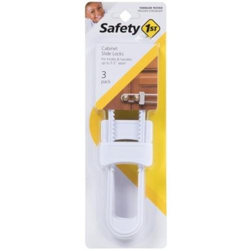 Safety 1st Cabinet Slide Lock - 3pk