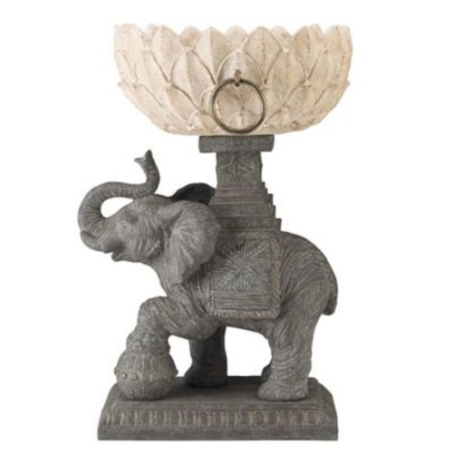 BombayOutdoors Assam Elephant Statue Planter