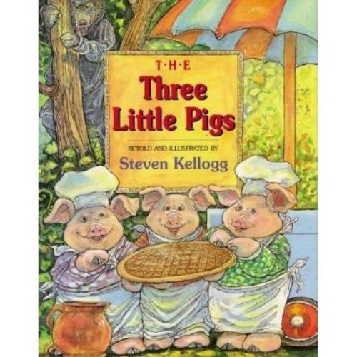 The Three Little Pigs Kellogg, S. |Kellogg, Steven