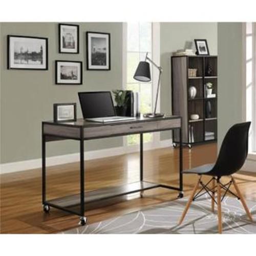 Altra Furniture Mason Ridge Mobile Desk in Sonoma Oak Finish