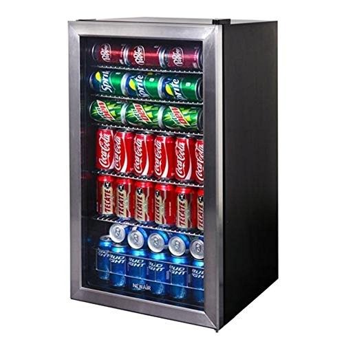 Air AB-1200 126-Can Beverage Cooler [Stainless Steel]