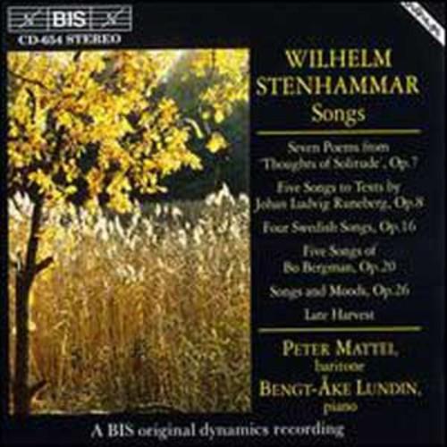 Stenhammar: Songs (Audio CD)