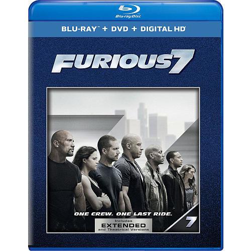 Furious 7 Blu-Ray Combo Pack (Blu-Ray/DVD/Digital HD)