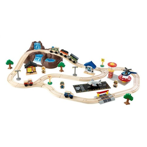 KidKraft Bucket Top Mountain Train Playset