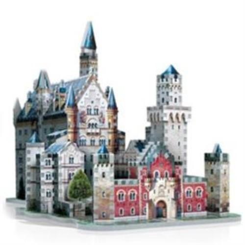 Wrebbit Puzzles 3D Neuschwanstein Castle Jigsaw Puzzle, 890Piece