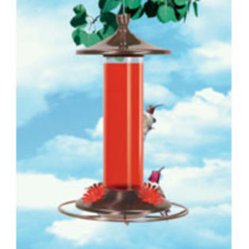 Perky-Pet Glass and Metal Hummingbird Feeder per EA