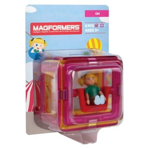 Magformers Figure Plus Girl Set - 6pc