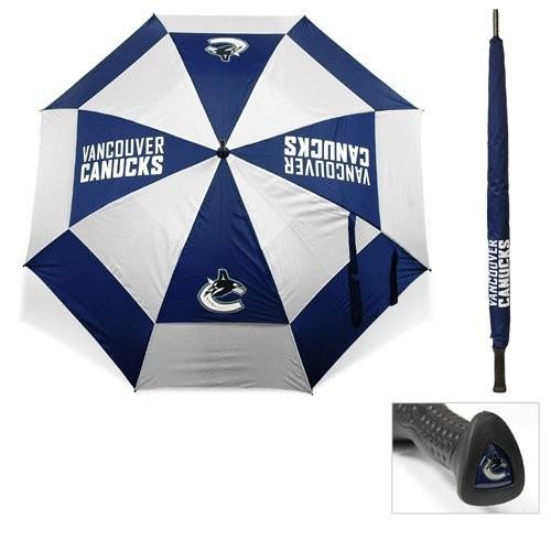 Team Golf Vancouver Canucks 62 Double Canopy Umbrella
