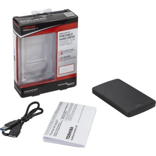 Toshiba Canvio Basics 3.0 HDTB330XK3CA 3 TB External Hard Drive