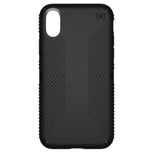 Speck iPhone X Case Presidio Grip - Black