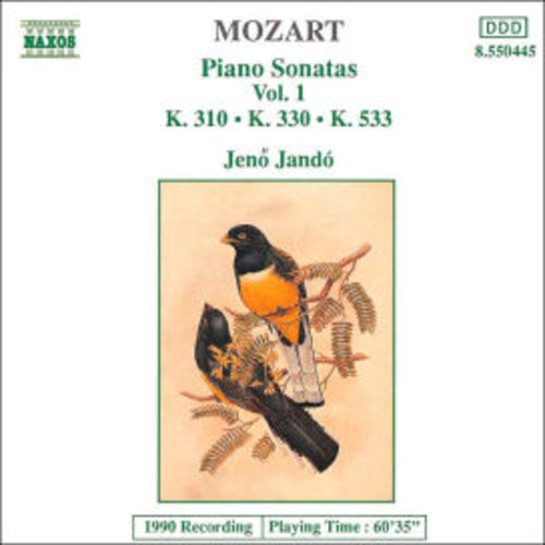 Jeno Jando - Mozart: Piano Sonatas Vol 1