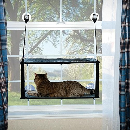 K&H Manufacturing Kitty Sill Ez Window Mount [Double Stack]
