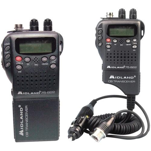 Midland Radio 75-822 Portable/Mobile CB Radio