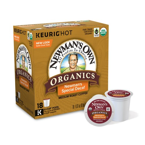 man's Own Organics Newman's Special Decaf Coffee