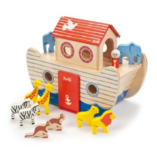 Indigo Jamm Wood Noah's Ark Wood Playset