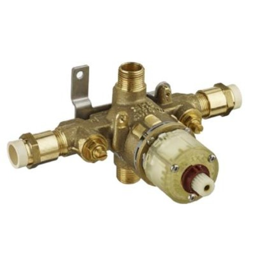American Standard 1/2 in. Pressure Balance Rough Valve with CPVC Inlets and Universal Outlets with Screwdriver Stops