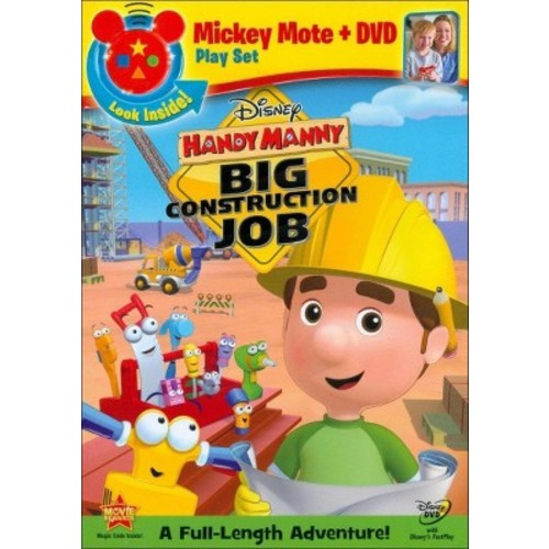 Handy Manny: Big Construction Job [With Mickey Mote Toy] WSE DDS