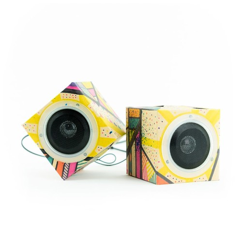 Seedling Design Out Loud! Cardboard Speakers