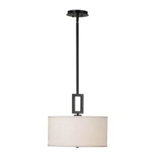 Kenroy Home Endicott 1-Light Oil Rubbed Bronze Pendant