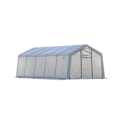ShelterLogic GrowIt 12 ft. x 20 ft. x 8 ft. Greenhouse in A Box Pro Peak Style
