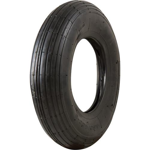 Marathon Tires Pneumatic Wheelbarrow Tire  Tire Only, 4.80/4.008in.