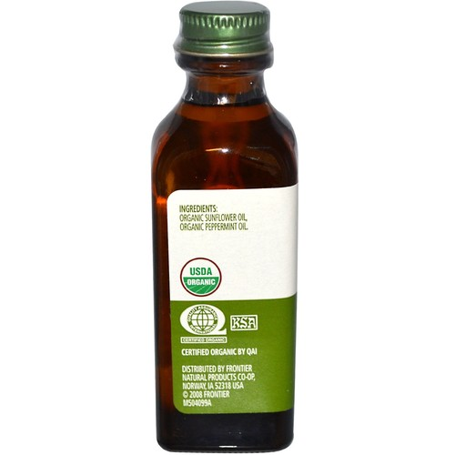 Simply Organic Peppermint Flavor -- 2 fl oz