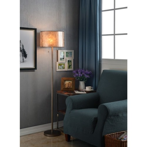 Design Craft Floor Lamps Mica Floor Lamp