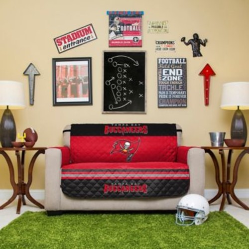 NFL Tampa Bay Buccaneers Love Seat Cover