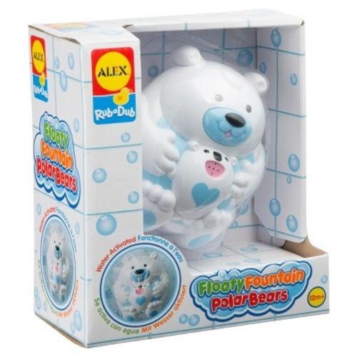 ALEX Toys Rub a Dub Floaty Fountain Polar Bears