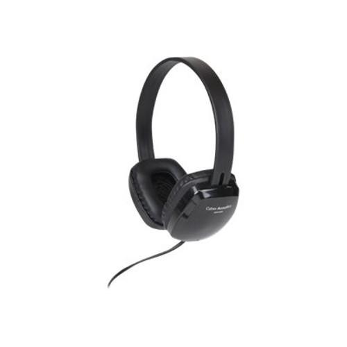 Cyber Acoustics ACM 6004 - Headphones - full size - wired - 3.5 mm jack (ACM-6004)