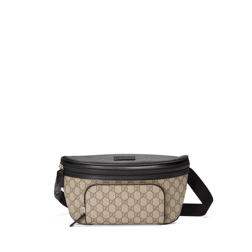 GUCCI Eden Gg Supreme Belt Bag, Beige
