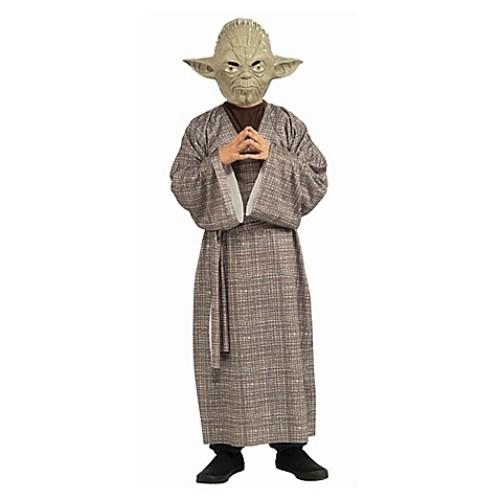 Star Wars Yoda Deluxe Large Child's Halloween Costume
