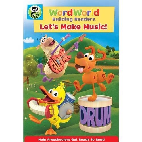 WordWorld: Let's Make Music! [DVD]